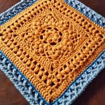 Duckbill Dalliance Afghan Block