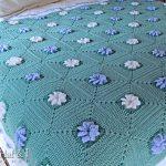 Flower Baby Blanket