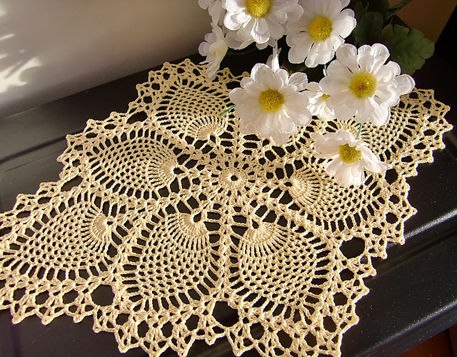 Adorable Pineapple Doily