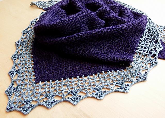 Super Cute Atlantic Lace Shawl