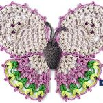 Crochet Lovely Butterfly