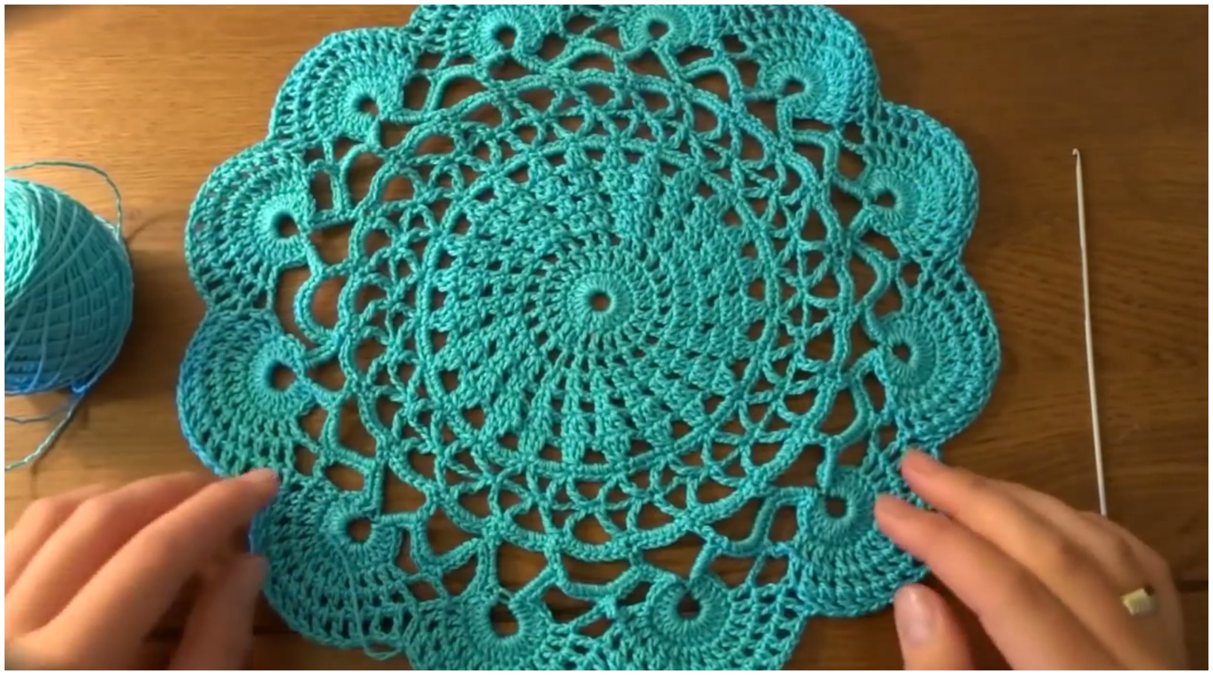 Easy Super Cute Doily
