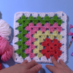 Mitered Granny Square Tutorial