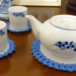How To Crochet a Teapot Coaster