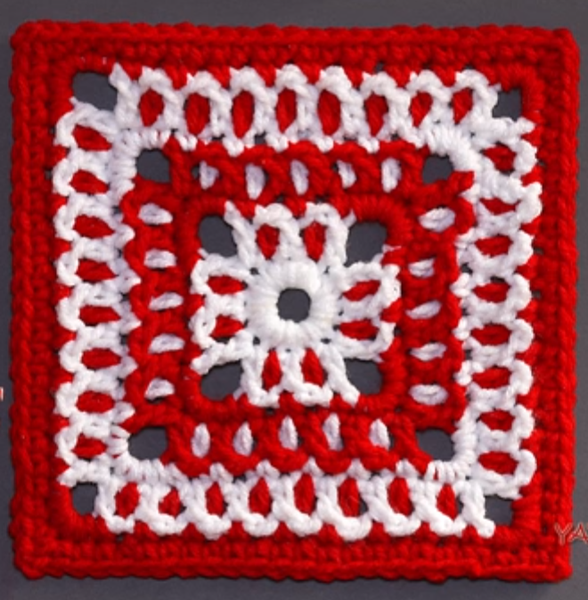 Attractive Granny Square