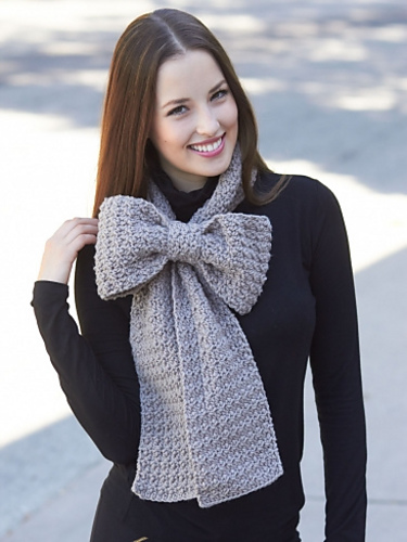 Super Cute Bow Scarf