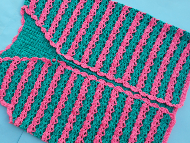 Crochet Lacy Cardigan