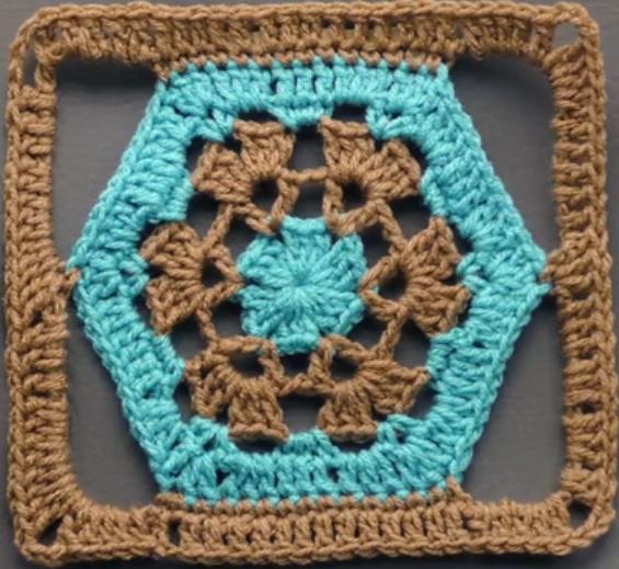 Hexagon Into The Square