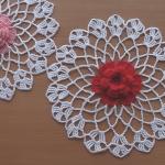 Crochet Doily Flower Part 2