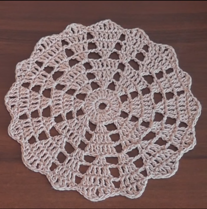 Crochet Lovely Doily Tutorial
