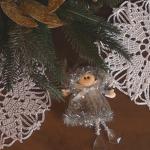 Crochet Snowflake Doily Ornaments