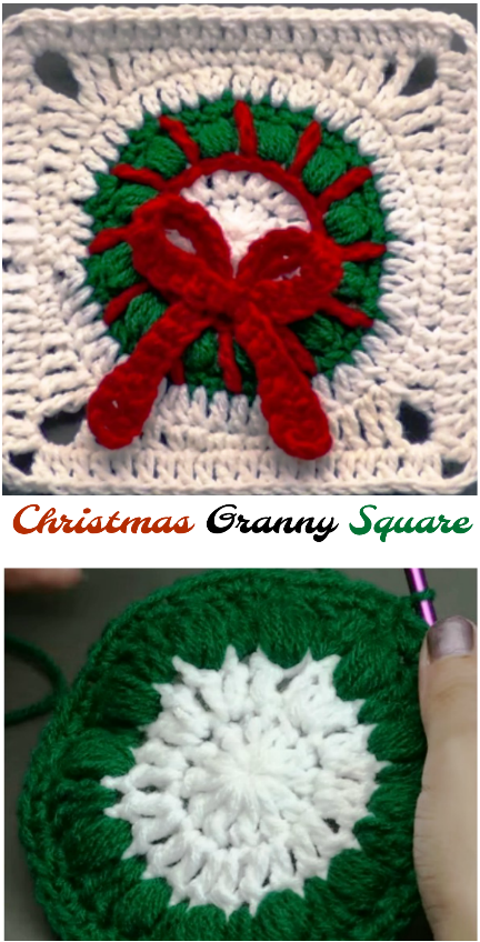 Christmas Granny Square