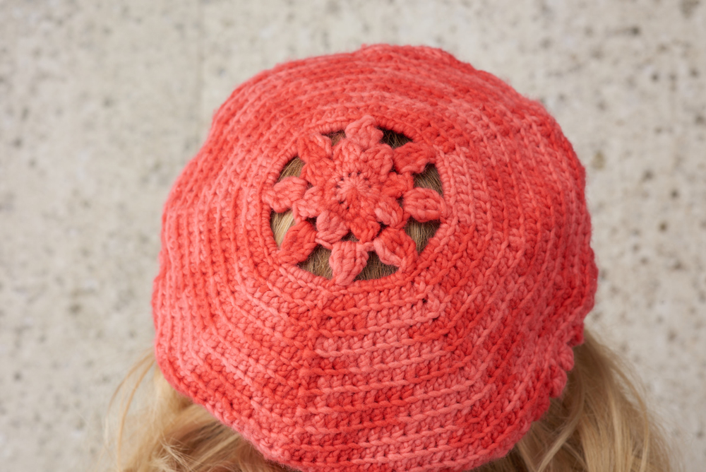 Precious Coral Lacy Hat Pattern