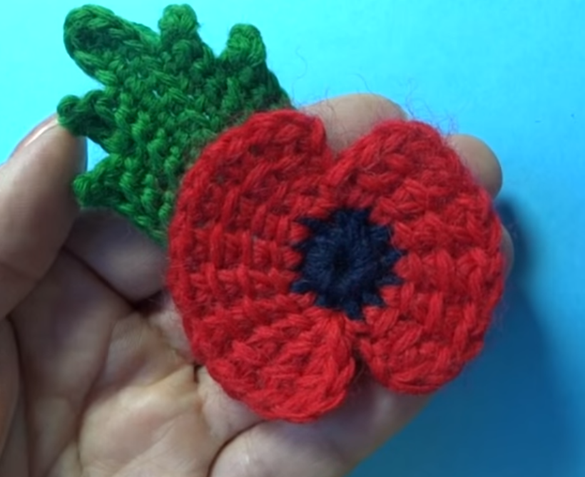November 11 First World War Remembrance Flower