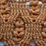 Crochet The Spikelets Stitch