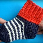 Crochet Socks Video Tutorial
