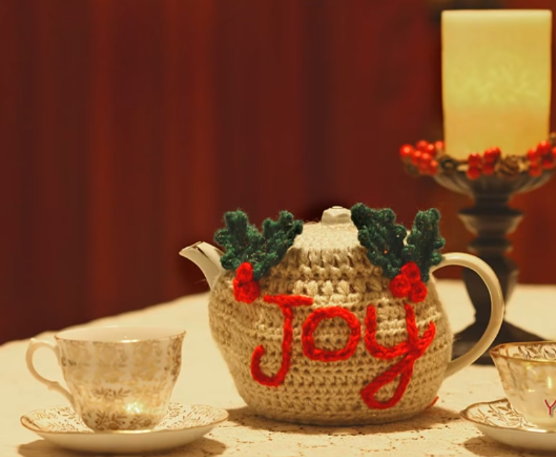The Joyful Teapot Cozy