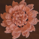 How To Crochet Exquisite Flower