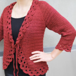 Triple Stitch Cardigan Jacket