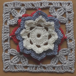 Super Easy Flower Granny Square Tutorial