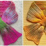 Knit Rodekool Scarf