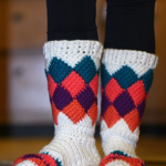 Tutti Frutti Crochet Slippers
