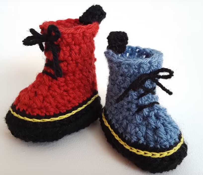 Mini Martens Baby Boots