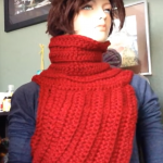 The Katniss Inspired Cowl Tutorial
