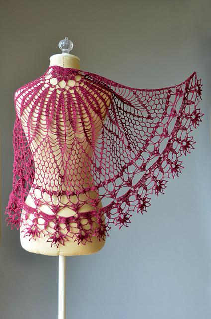 Crochet Corona Shawl
