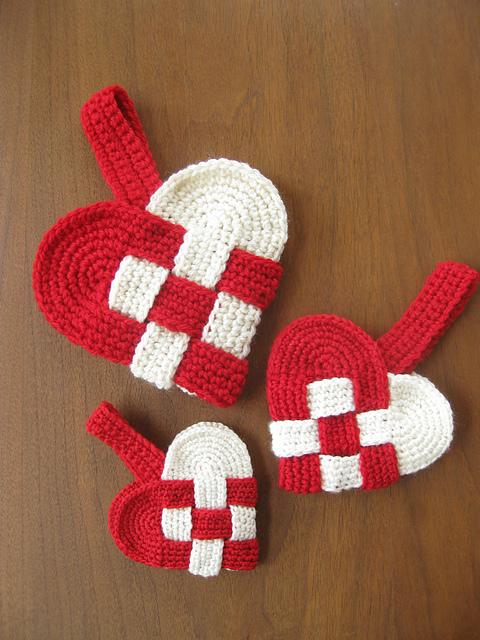 How To Crochet Danish Heart