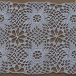 Crochet Motif For Tablecloth