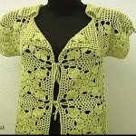 Square Motif Lady's Jacket Tutorial