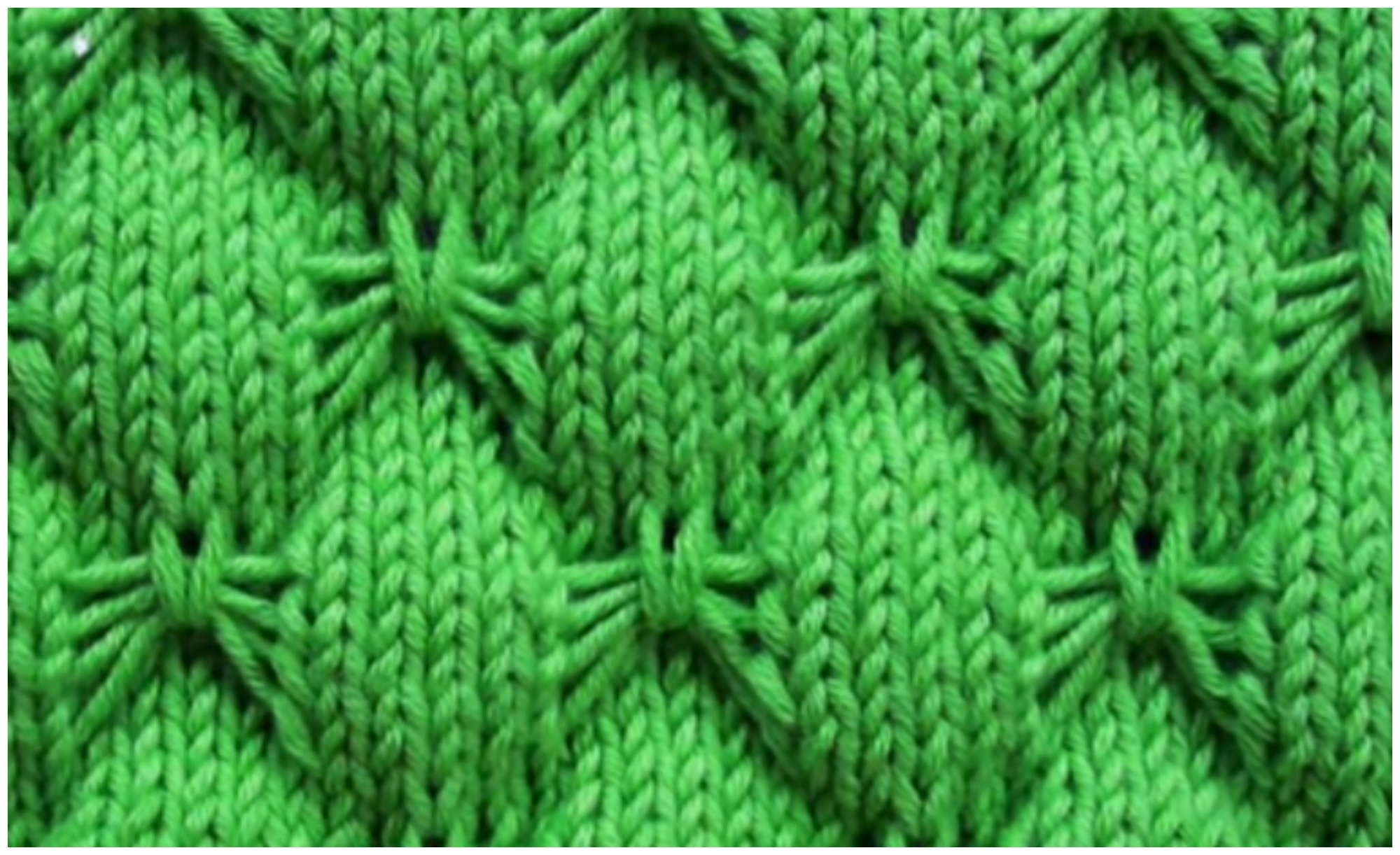 Knitting – Butterfly Stitch