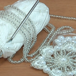 Crochet Cute Beaded Flower Tutorial