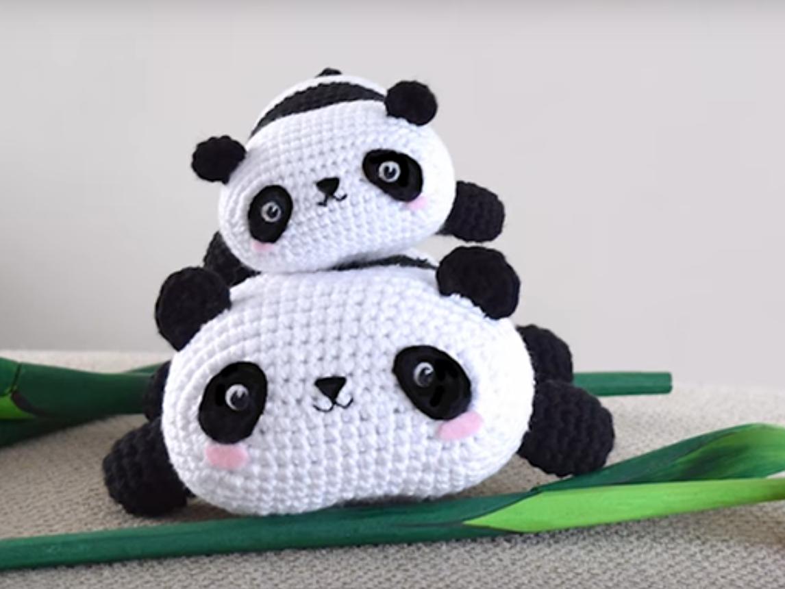 Panda Bear Amigurami
