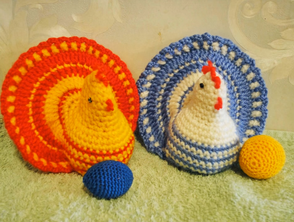 Crochet Easter Chicken