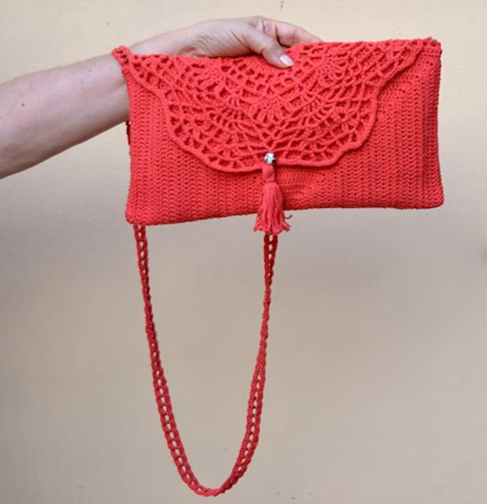 How To Crochet Stylish Clutch