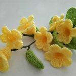 How To Make Trumpet Crochet flower