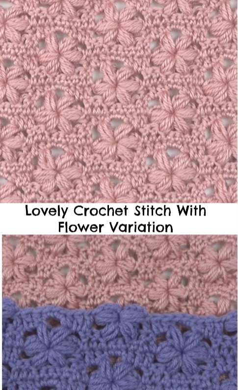 flower variation stitch