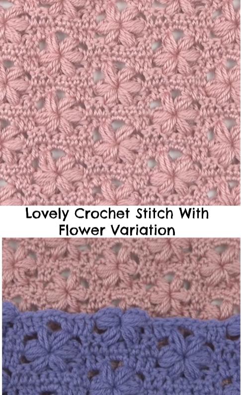 flower variation stitch