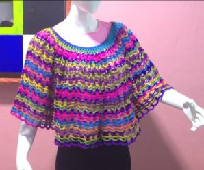 The Easiest Poncho Video Tutorial