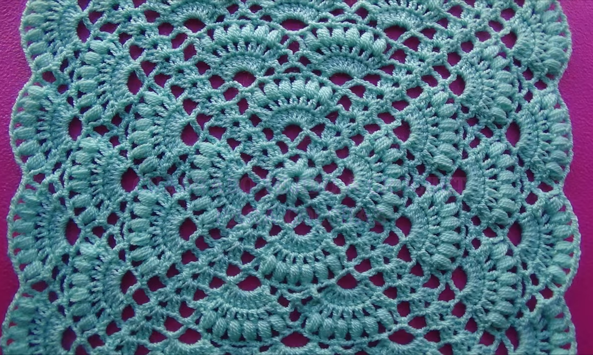 Crochet Exquisite Square Tutorial