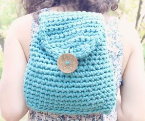 How To Crochet Trendy Backpack