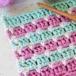 Crochet The Block Stitch Easy Tutorial