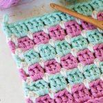 Crochet The Block Stitch Easy Tutorial