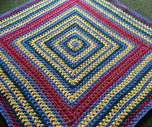 Wobbly Squares Blanket