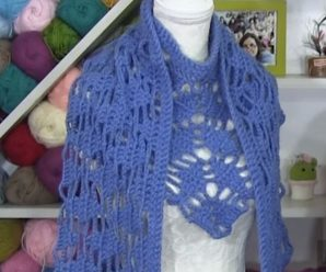 How To Crochet L-Shaped Scarf