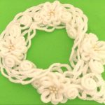 Quick And Easy Flower Scarf