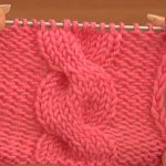 Front Cross Cable Stitch (Knitting)