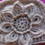 Crochet Flower Hat Step By Step Tutorial